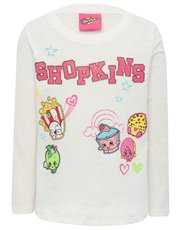 Shopkins character top and stickers