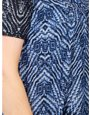 Izabel Curve abstract knitted tunic dress