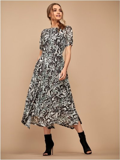 Sonder Studio leopard print dress