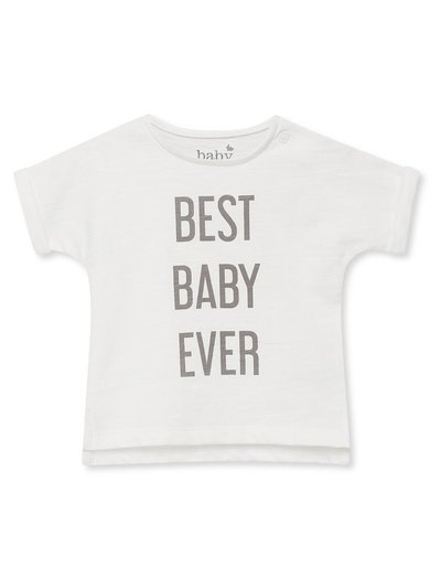 Best baby ever slogan t-shirt (Newborn-9mths)
