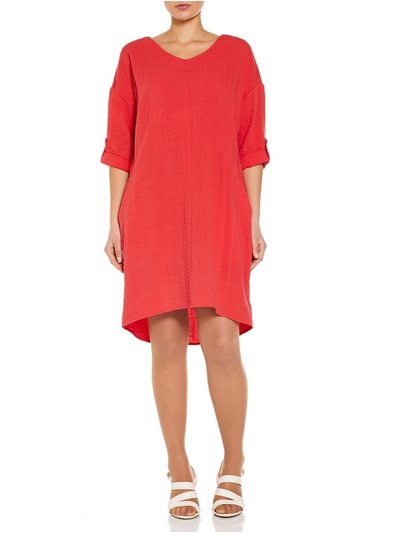 VIZ-A-VIZ loose fit dress