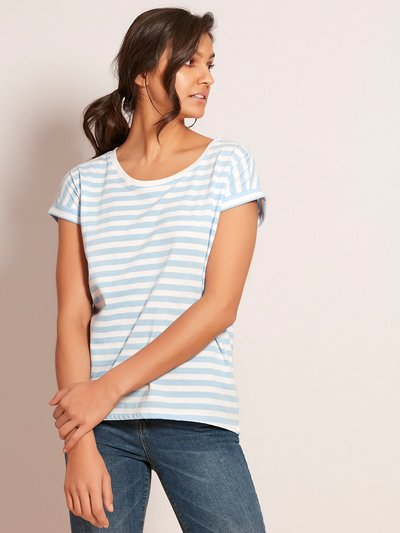 VILA striped t-shirt