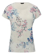 Blossom burnout top