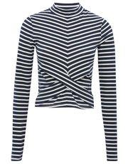 Stripe wrap over top