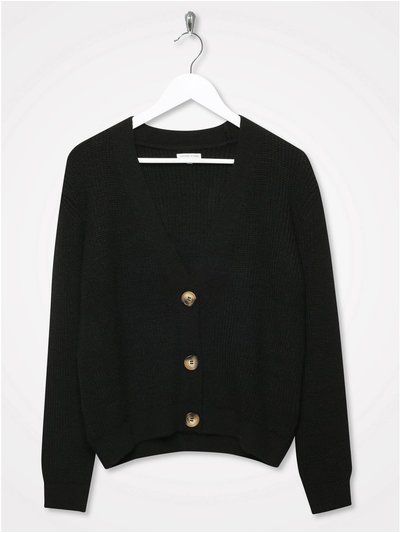 Sonder Studio v neck button cardigan