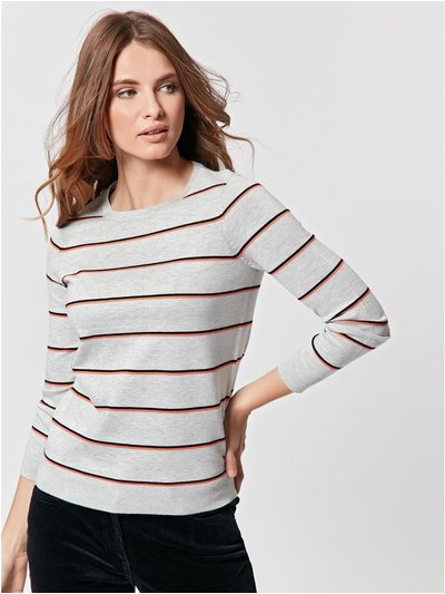 Petite striped jumper