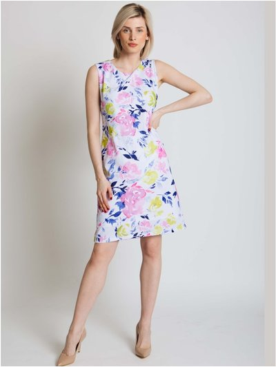 Jessica Graaf floral print shift dress