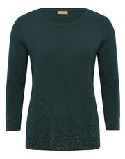 Diamante embellished jumper