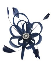 Muse pearl looped fascinator