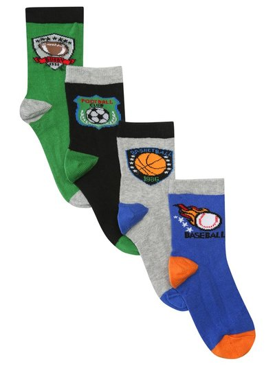 Sport socks four pack