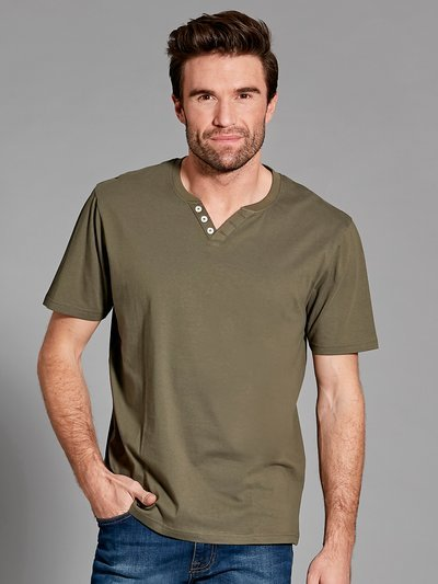 Notch neck t-shirt