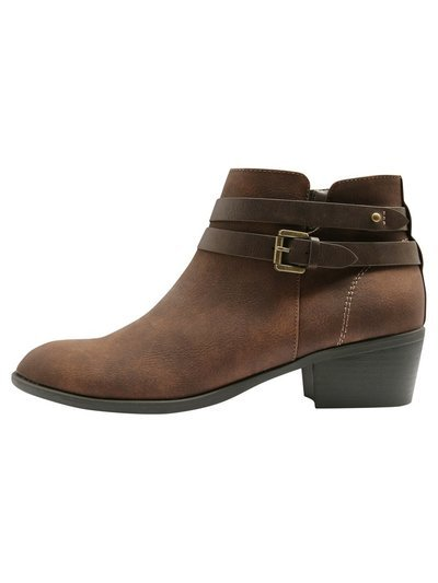 Addison double strap detail ankle boot