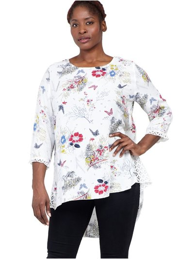 6239eb21d15 Women's 3/4 Sleeve Tops | Dressy & Casual 3/4 Sleeve Tops | M&Co