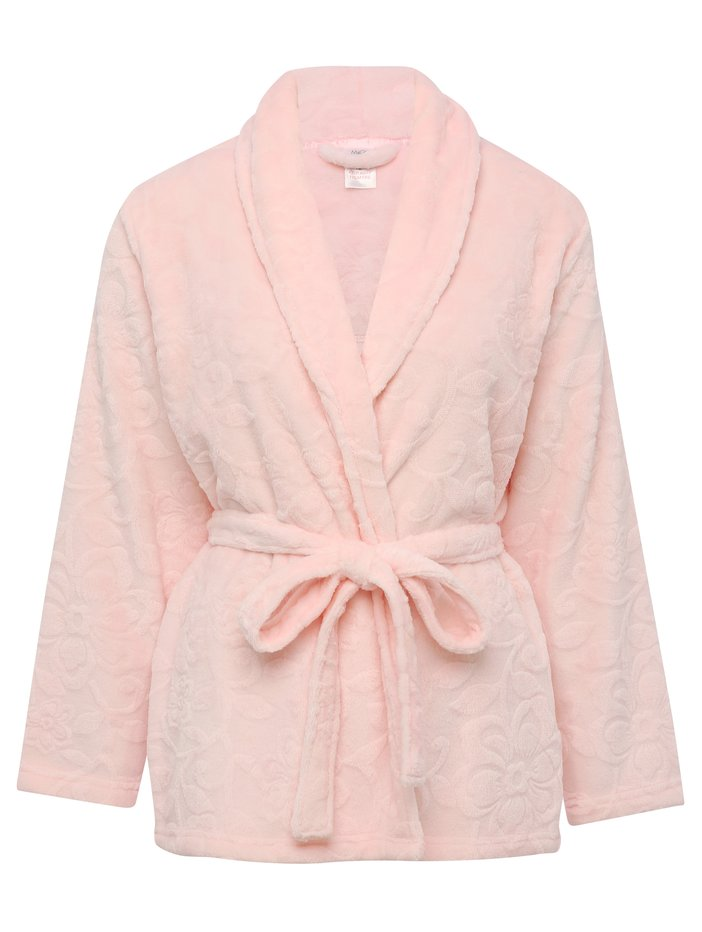 Short Floral Wrap Dressing Gown | Women\'s Dressing Gowns | M&Co