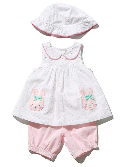 Bunny top hat and bloomers set