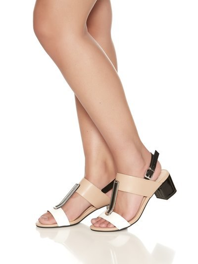 Shannon two band and trim sandal