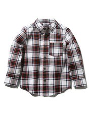 Check twill shirt