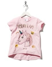 Unicorn Emoji print t-shirt