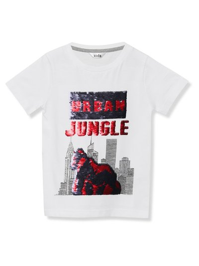 Gorilla two way sequin t-shirt (3-13yrs)