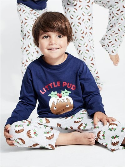 Little pud Christmas pyjamas (1-12yrs)