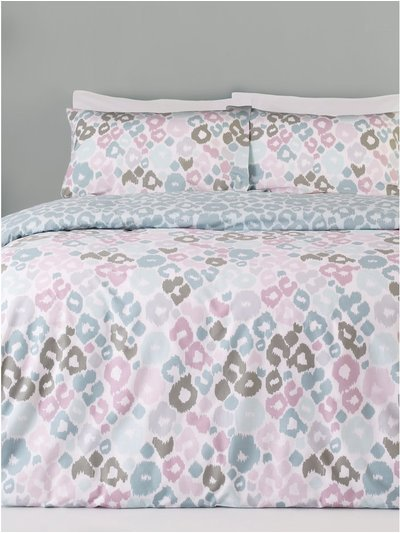 Animal print duvet set