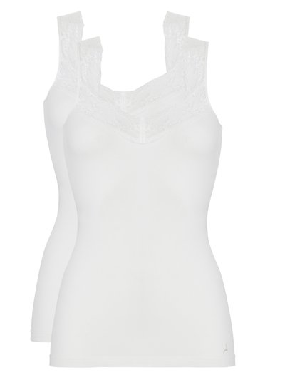 Ten Cate lace strappy vest 2 pack