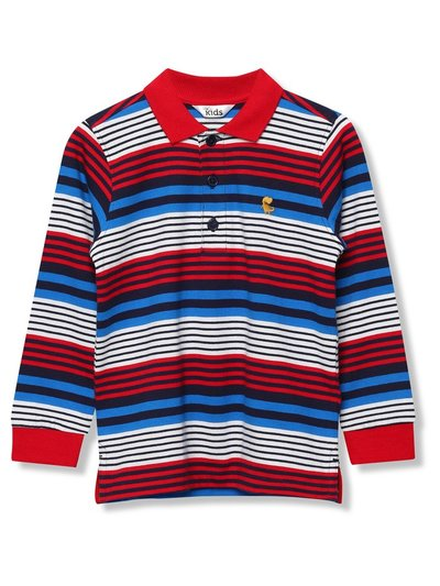Striped polo shirt (9mths-5yrs)