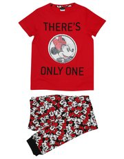 Teens' Mickey and Minnie Mouse two way sequin pyjamas