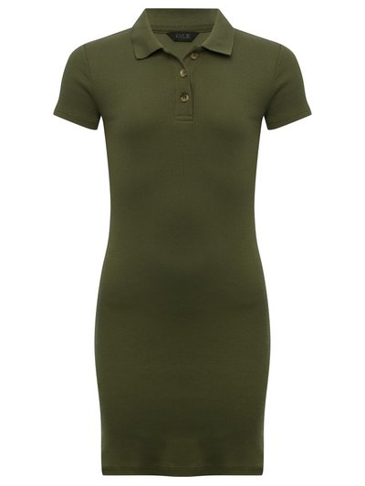 Teen polo shirt dress
