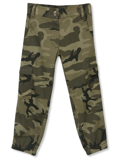 Camo print combat trousers (3-12yrs)