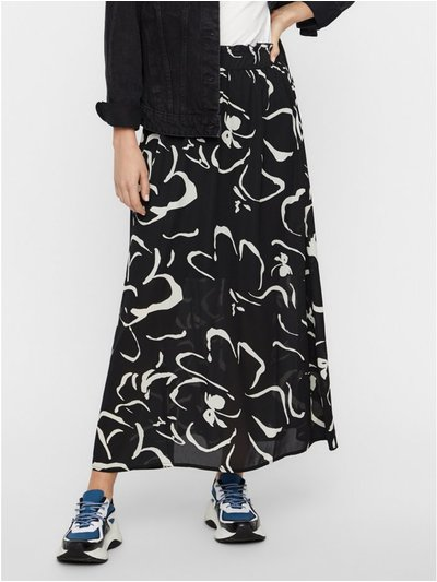 Vero Moda abstract print maxi skirt