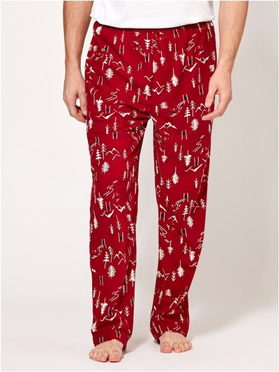Ski print lounge trousers