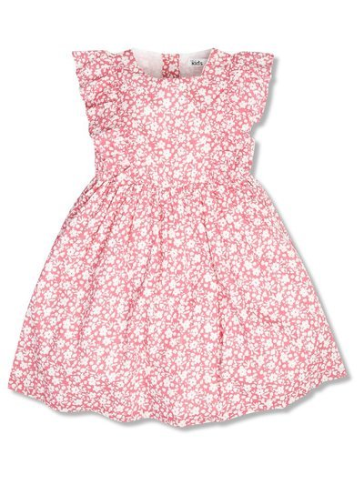 Frill ditsy floral dress (9mths-5yrs)