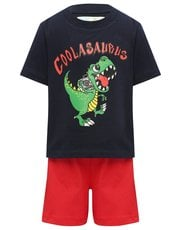 Coolasaurus slogan pyjamas