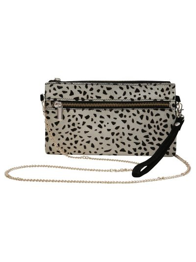 Animal print clutch purse