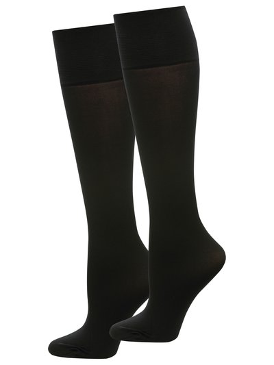 60 Denier knee highs black