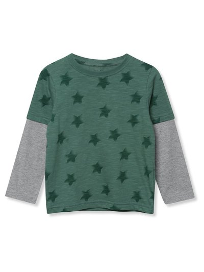 Long sleeve star t-shirt (9mths-5yrs)