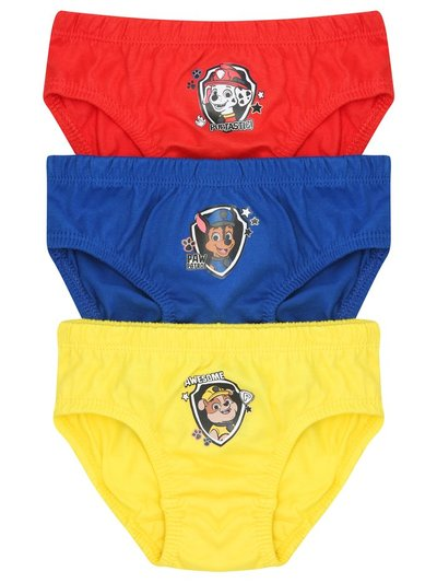Paw Patrol briefs three pack (1 - 6 yrs)