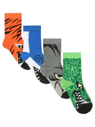 Animal socks four pack