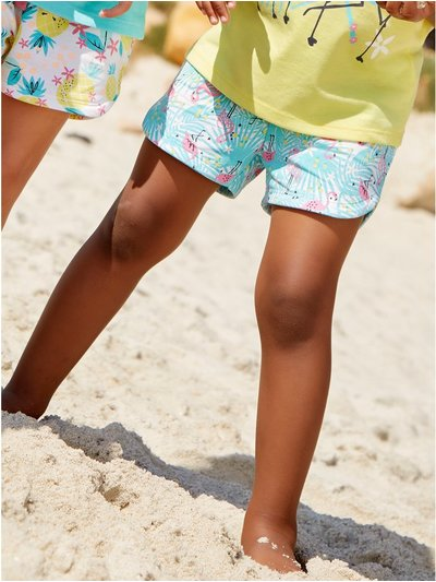 Flamingo print shorts (3 - 12 yrs)