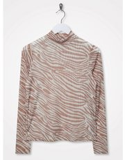 Sonder Studio mesh animal top