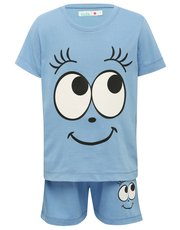 Smiley face pyjamas