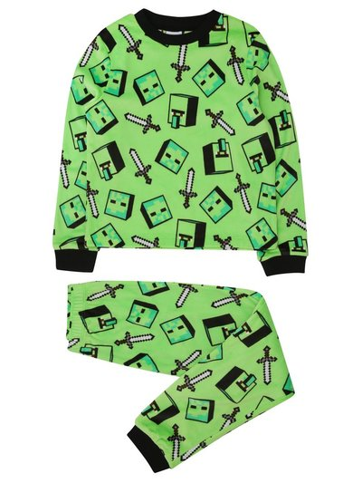 Fleece Minecraft pyjamas (5 - 12 yrs)