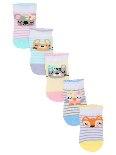 Animal socks five pack