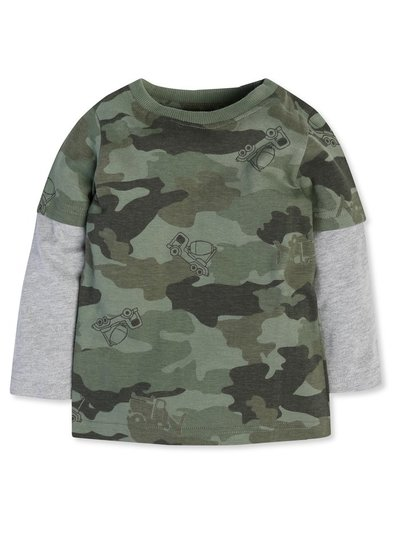 Camouflage top (9mths-5yrs)