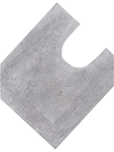 Grey cotton pedestal mat