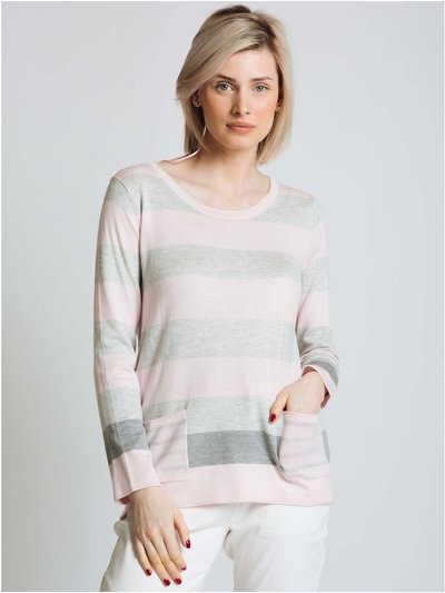 Jessica Graaf stripe sweater with pockets