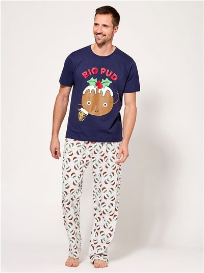 Big pud Christmas pyjamas