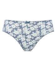 Floral tapestry high leg briefs