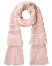 Pieces ruffle scarf
